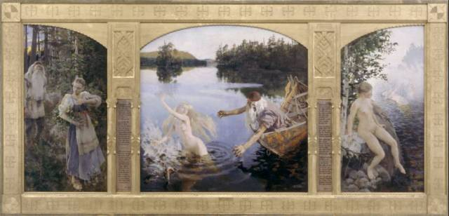 "Gallen Kallela's ""The Aino Triptych"""