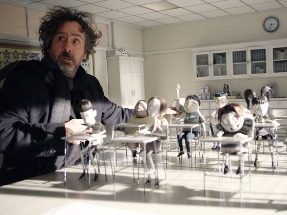 "Tim Burton working on ""Frankenweenie"""