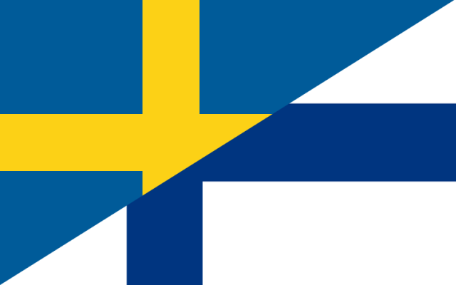 Swedish/Finnish Flag