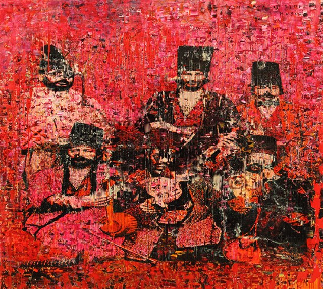 """Masters of Persia"", by Reza Derakshani"