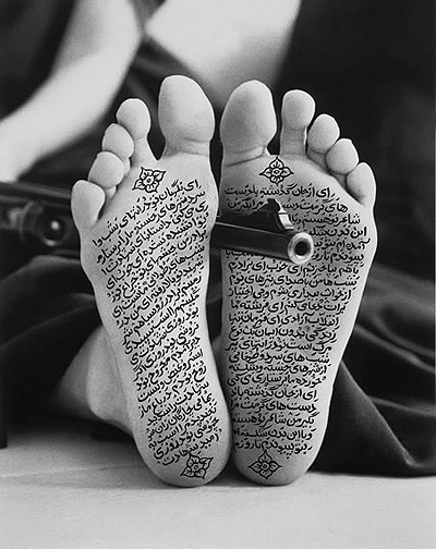 Work by Shirin Neshat