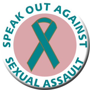 Awareness Ribbon for sexual violence