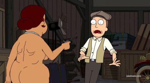 Jerry held at gunpoint