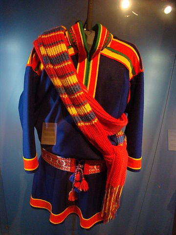 Another type of traditional clothing (all are made out of reindeer fur)