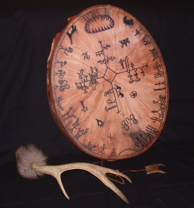 One of the many types of drums used by the Sami