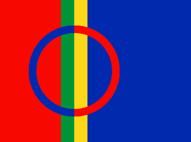 International Sami Flag