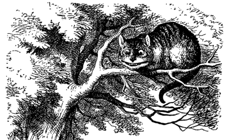 Cheshire_Cat_on_a_tree